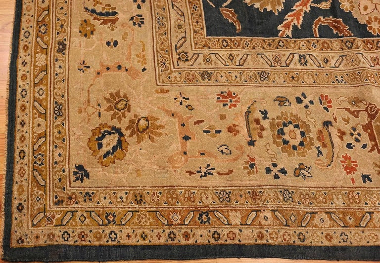 Hand-Knotted Antique Persian Sultanabad Carpet by Ziegler. Size: 13 ft x 17 ft 7 in For Sale