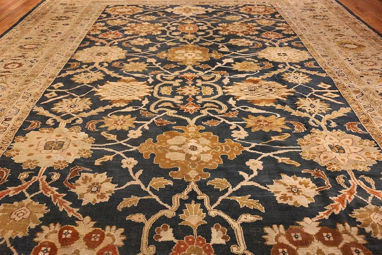 Wool Antique Persian Sultanabad Carpet by Ziegler. Size: 13 ft x 17 ft 7 in For Sale