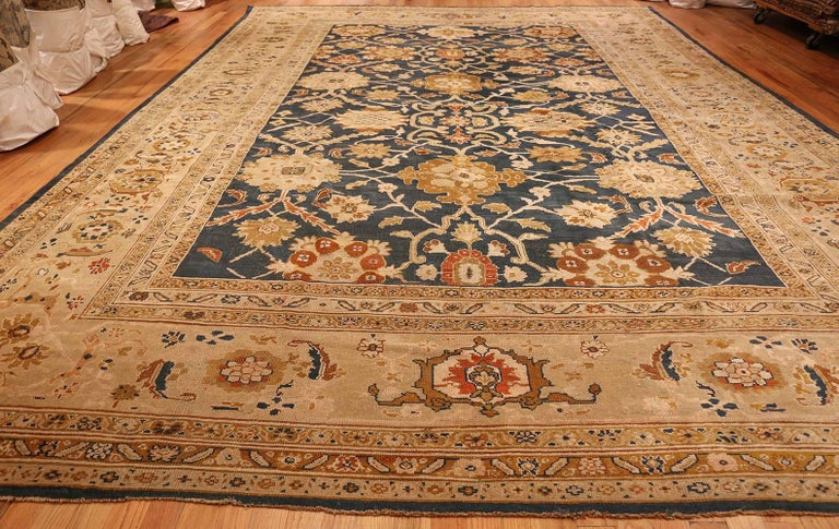 Antique Persian Sultanabad Carpet by Ziegler. Size: 13 ft x 17 ft 7 in For Sale 3
