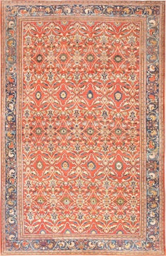 Antique Persian Sultanabad Carpet. Size: 15 ft x 24 ft (4.57 m x 7.32 m)