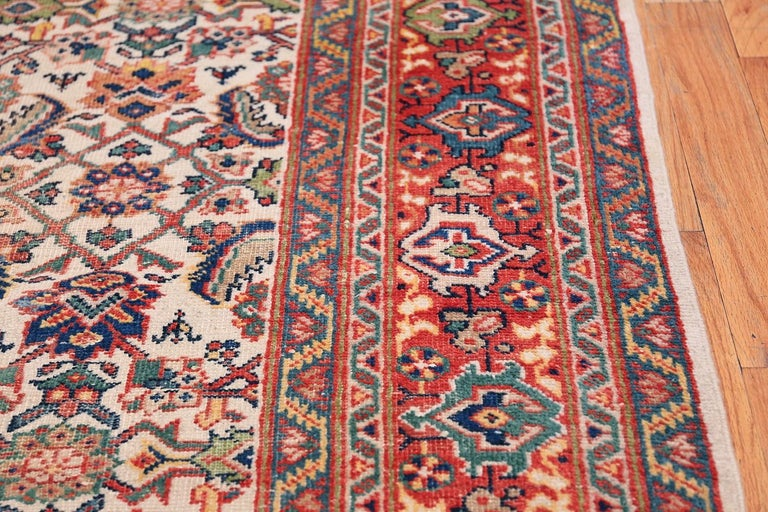 20th Century Antique Persian Sultanabad Carpet For Sale