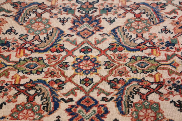 Antique Persian Sultanabad Carpet For Sale 1