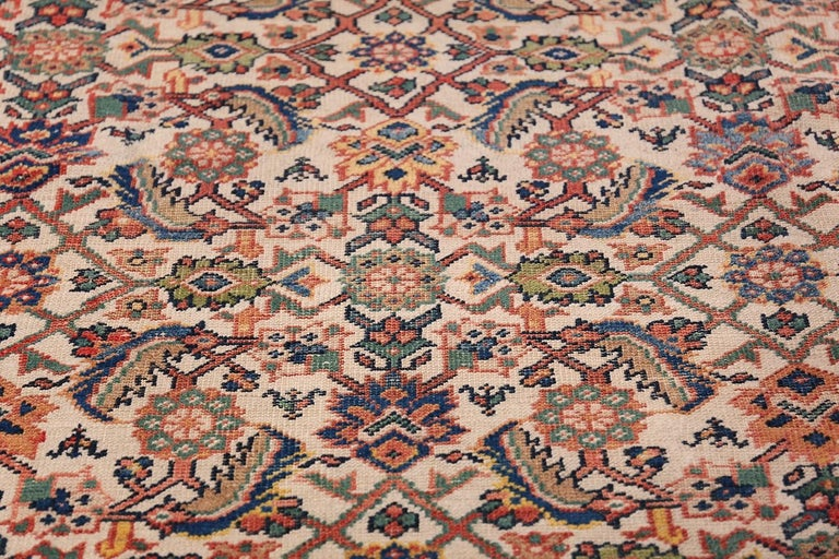 Antique Persian Sultanabad Carpet For Sale 2