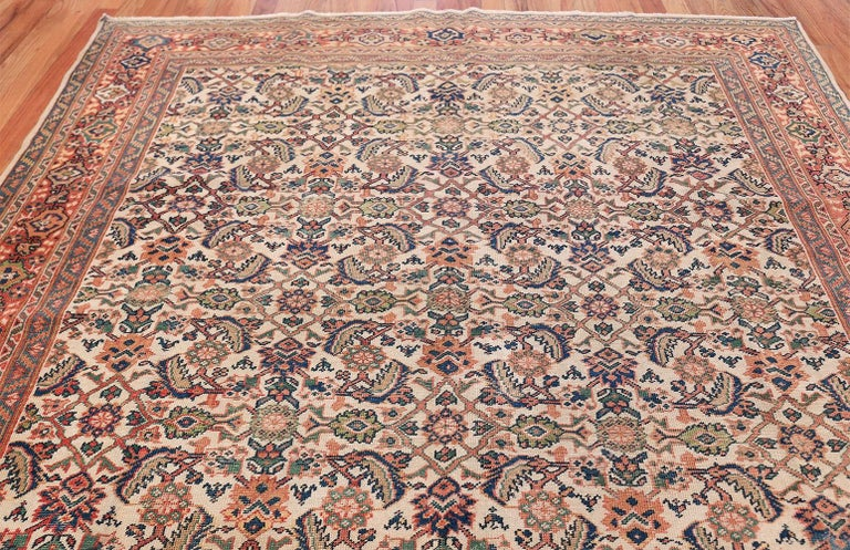 Antique Persian Sultanabad Carpet For Sale 3