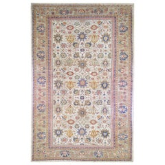 Antique Persian Sultanabad Good Condition Extra Long Wool Hand Knotted Rug