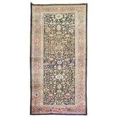 Antique Persian Sultanabad Mahal Gallery Size Carpet