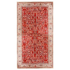 Antique Persian Sultanabad Oversized Rug, circa 1900