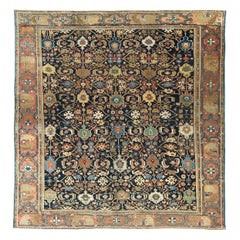 Antique Persian Sultanabad Rug Allover Design