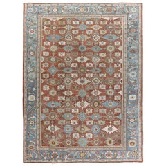 Antique Persian Sultanabad Rug, circa 1890  10'5 x 14'2
