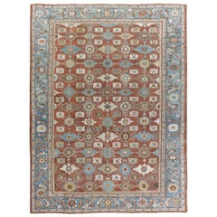 Antique Persian Sultanabad Rug, circa 1890, 10'5 x 14'2