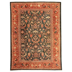 Antique Persian Sultanabad Rug. Size: 10 ft 9 in x 14 ft 4 in (3.28 m x 4.37 m)