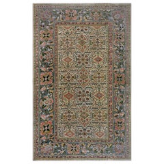 Antique Persian Sultanabad Rug 'Size Adjusted'