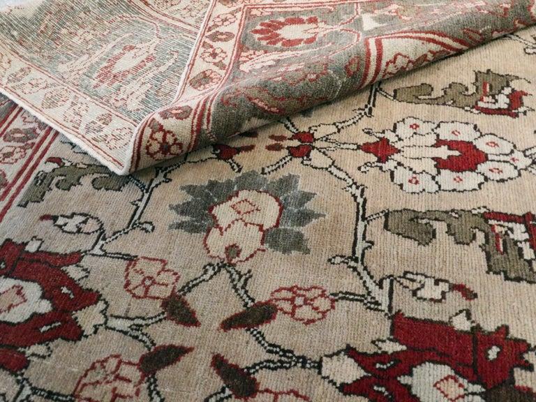Antique Persian Tabriz Carpet For Sale 4