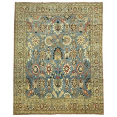 Antique Persian Tabriz Carpet