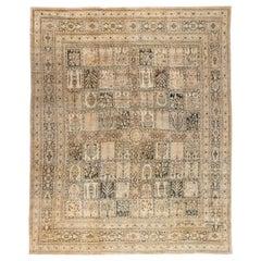 Antique Persian Tabriz Carpet 'size adjusted'