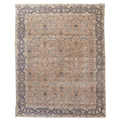 Antique Persian Tabriz Rug Carpet, circa 1900  9' x 11'3