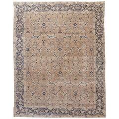 Antique Persian Tabriz Rug Carpet, circa 1900