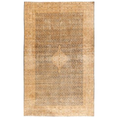 Antique Persian Tabriz Rug Carpet, circa 1900, 10'4 x 16'8