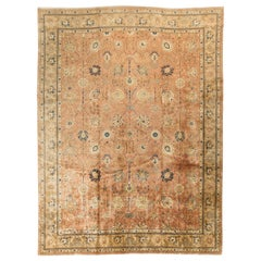 Antique Persian Tabriz Rug Carpet