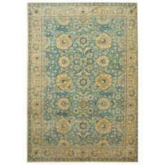 Antique Persian Tabriz Rug, circa 1920  7'9 x 10'11