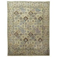 Antique Persian Tabriz Rug, circa 1920 9'10 x 12'10