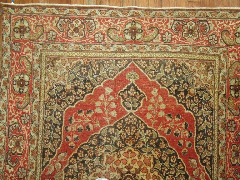 Antique Persian Tabriz Rug For Sale 2