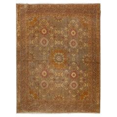 Antique Persian Tabriz Rug. Size: 3 ft x 4 ft (0.91 m x 1.22 m)