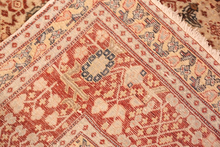 20th Century Antique Persian Tabriz Rug For Sale