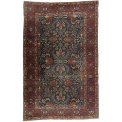 Antique Persian Tabriz Rug with Traditional Style