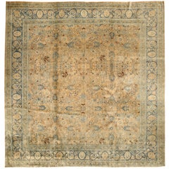 Antique Persian Tabriz Rug, Early 20th Century