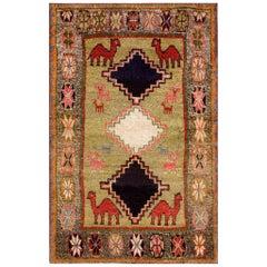 Antique Persian Tribal Gabbeh Rug