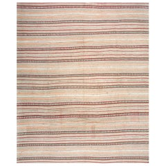 Antique Persian Tribal Kilim Rug