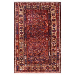 Antique Persian Tribal Kurdish Rug