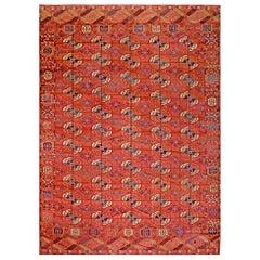 Antique Russian Turkmen - Tekke Carpet