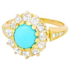 Antique Persian Turquoise Ring