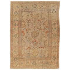 Antique Persian Ziegler Rug, circa 1890