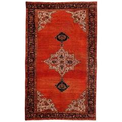 Antique Persian Ziegler Sultanabad Rug