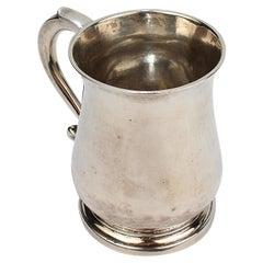 Antique Peter Mood Charleston South Carolina American Coin Silver Cann or Mug
