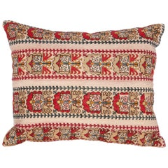 Antique Pillow Case Fashioned From an Ottoman Greek Embroidery, 19th Century