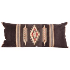 Antique Pillow Case Fashioned from an Early 20th Century Tapestry from Lebonon