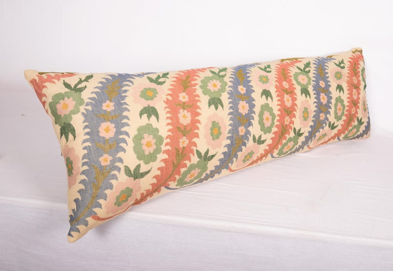 20th Century Antique Pillow Case Made from an Eastern European, Greek Embroidery For Sale