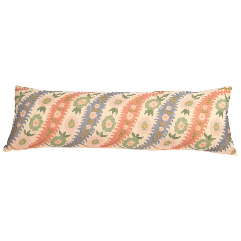 Antique Pillow Case Made from an Eastern European, Greek Embroidery For Sale