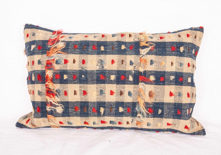 Turkish Pillow Cases Fashioned from an Anatolian Kilim Fragment, Late 19th Century For Sale