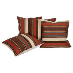 Antique Pillow Cases Made from a South Caucasian Kilim, Late 19th C
