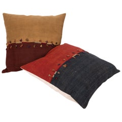 Antique Pillow Cases Made from an Eastern Anatolian Cover, Late 19th Century