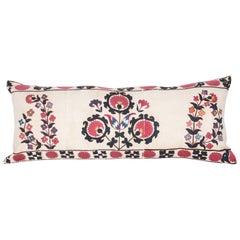 Antique Pillow Made from 19th Century Tashkent Suzani
