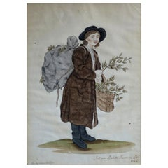 Antique Pin Prick Watercolour