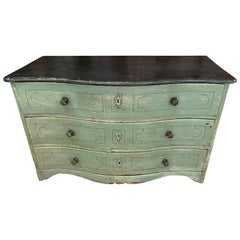 Antique Pine Chest of Drawers, 18th Century