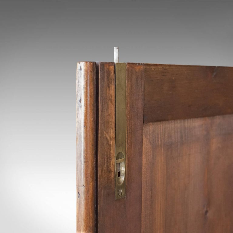Antique Pine Cupboard, English, Victorian, Cabinet, Pitch Pine, circa 1880 For Sale 6