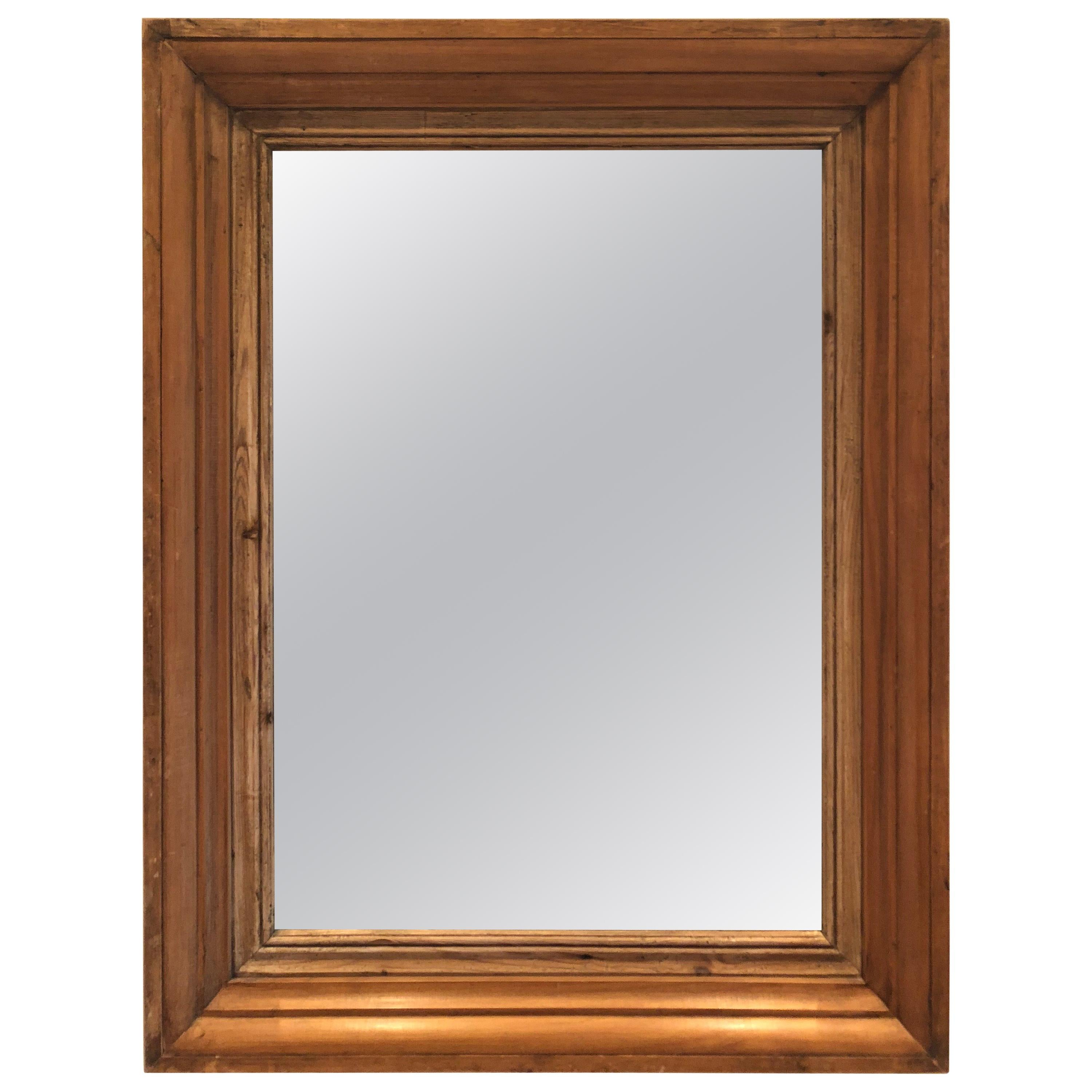 89d13c239053 Antique Pine Mirror Frame For Sale at 1stdibs